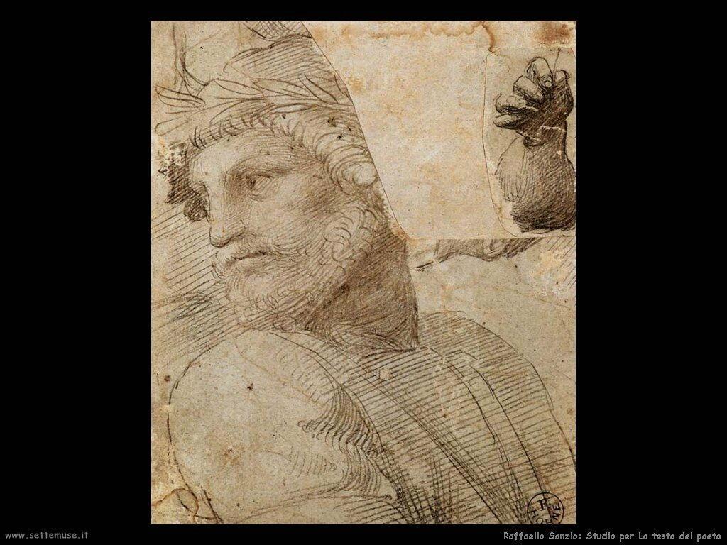 Raffaello sanzio - disegni, bozzetti e studi