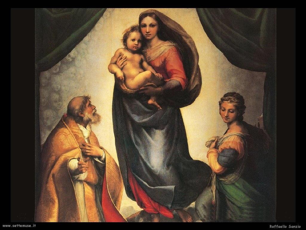 Madonna Sistina (dett)