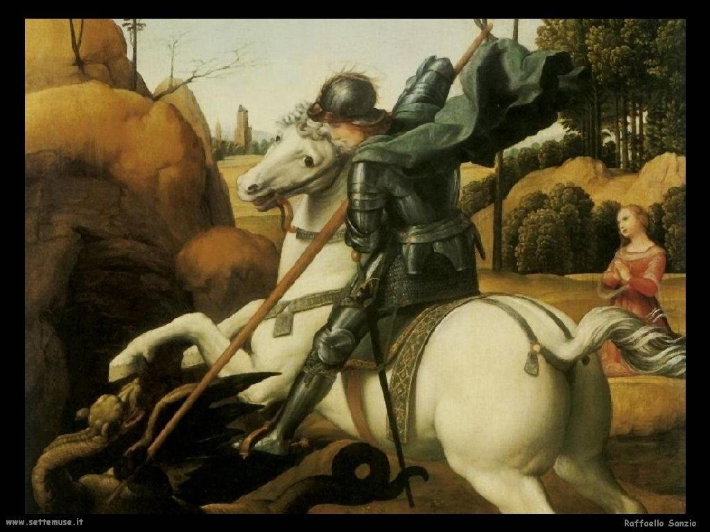 San Giorgio e il drago (dett)