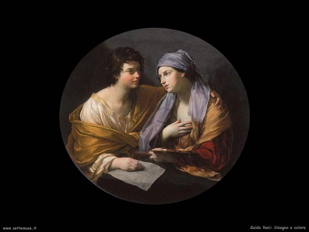 Guido Reni Disegno e colore