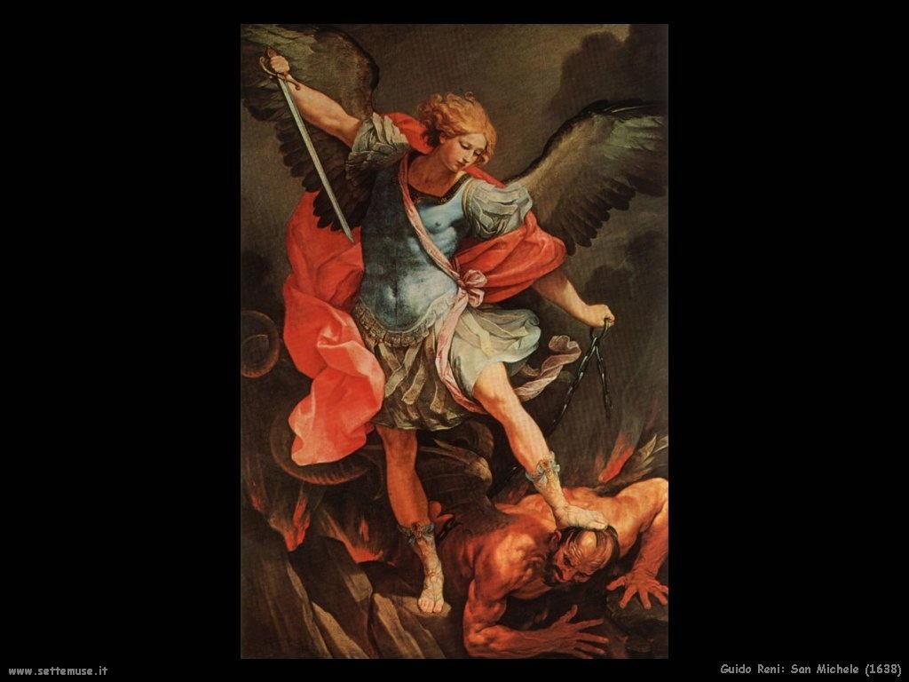 Guido Reni San Michele (1638)