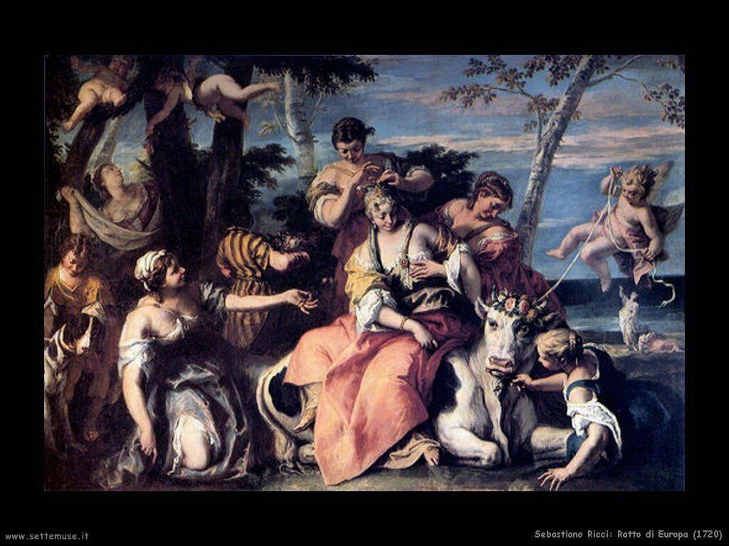 sebastiano_ricci ratto_di_europa_1720