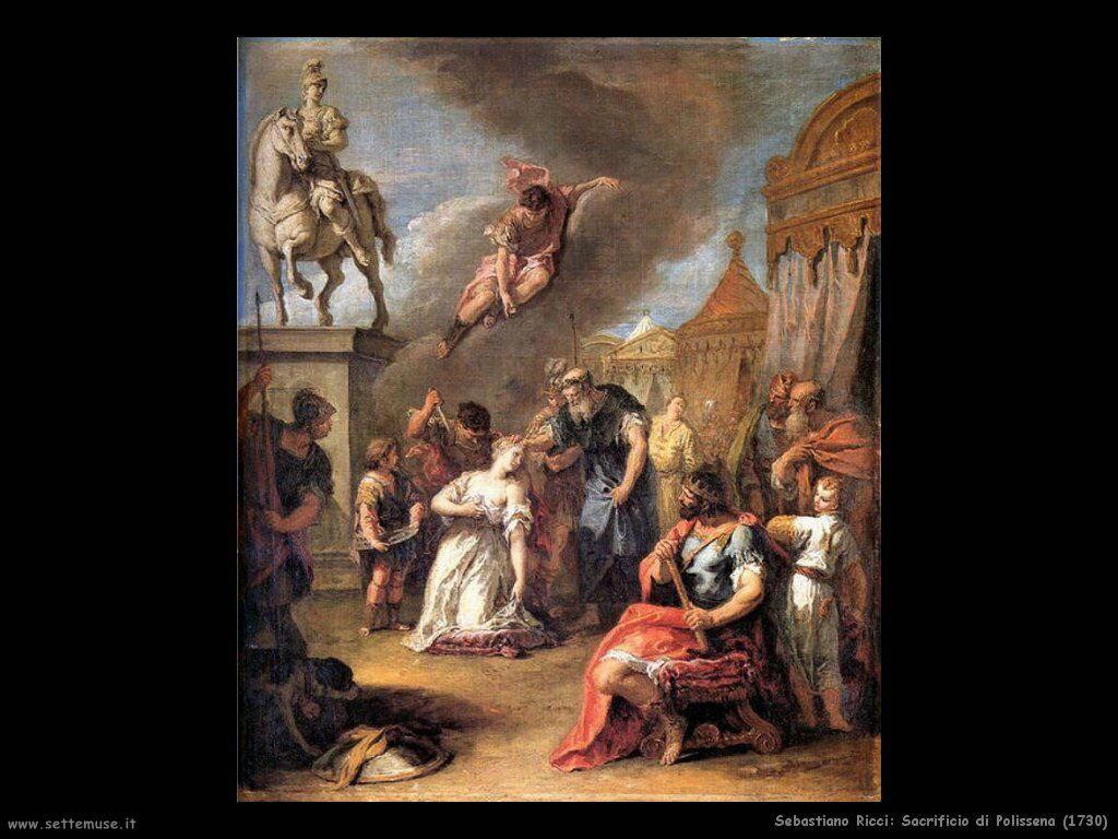 Sacrifico di Polissena (1730)
