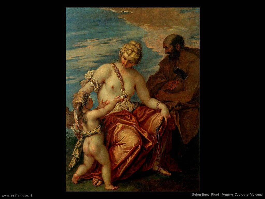 Sebastiano Ricci, Venere Cupido e Vulcano