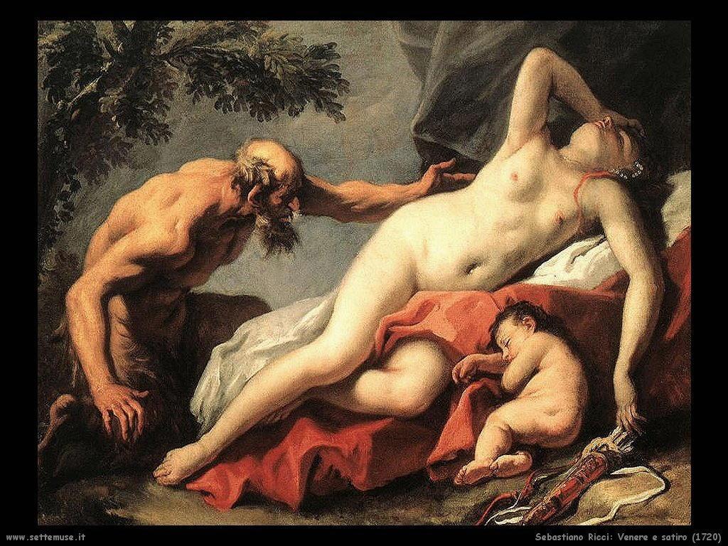 Venere e Satiro (1720)