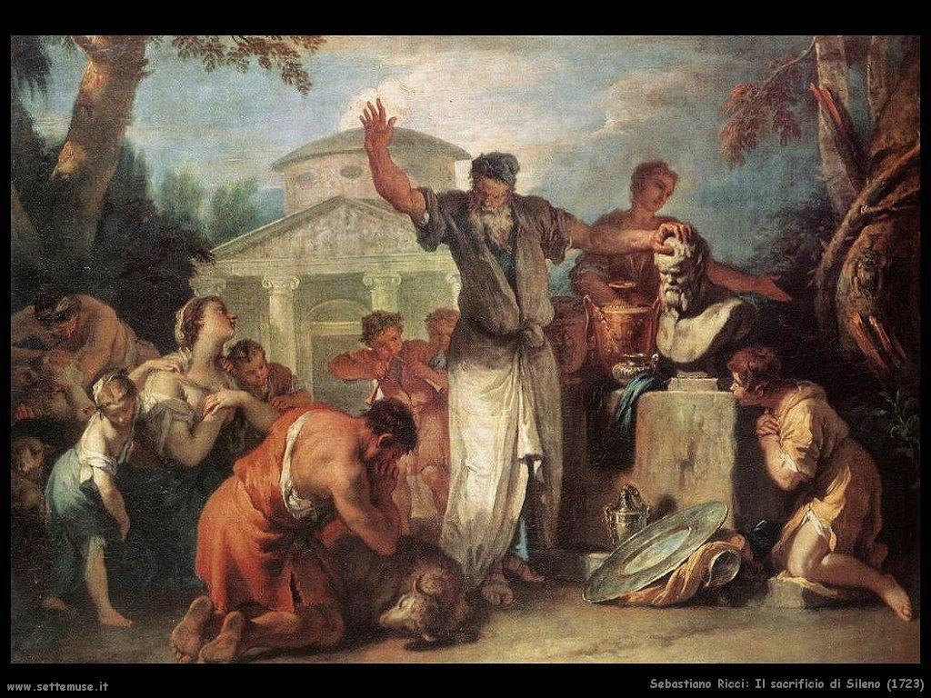 Sacrificio di Sileno (1723)