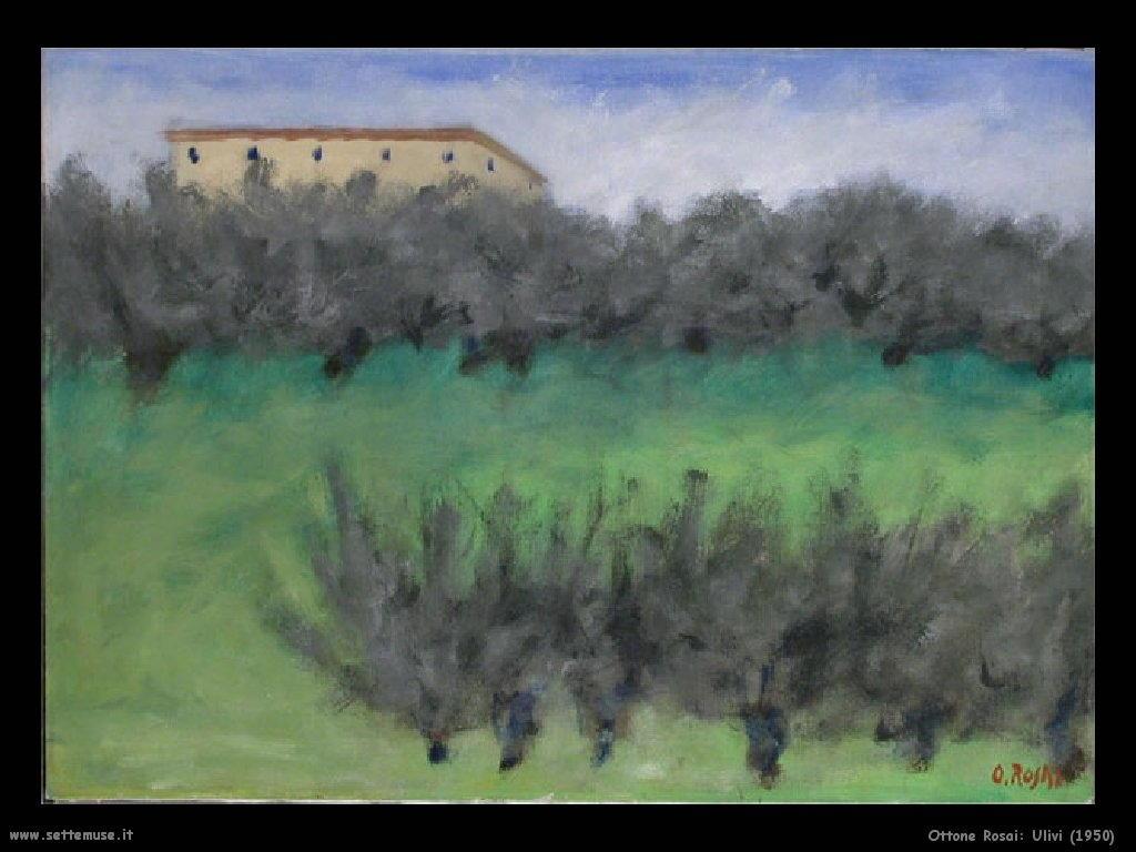 Ottone Rosai Ulivi (1950)