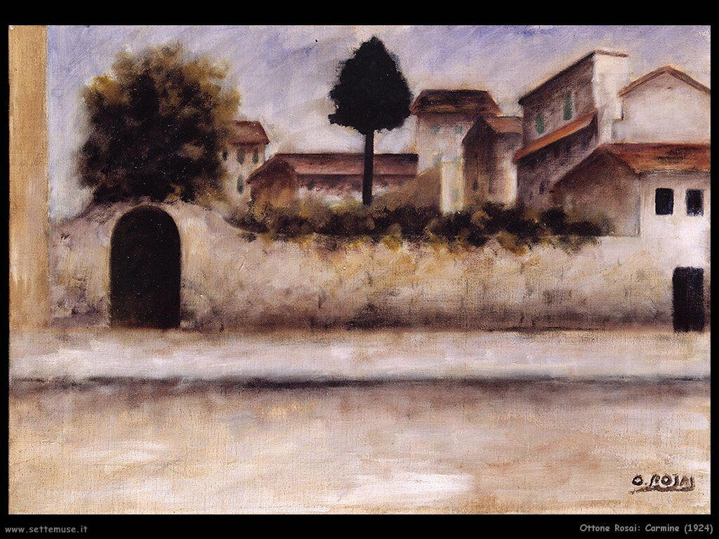 ottone rosai Carmine (1924)