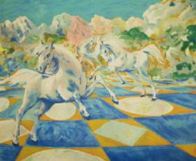 Cavalli di Aligi Sassu