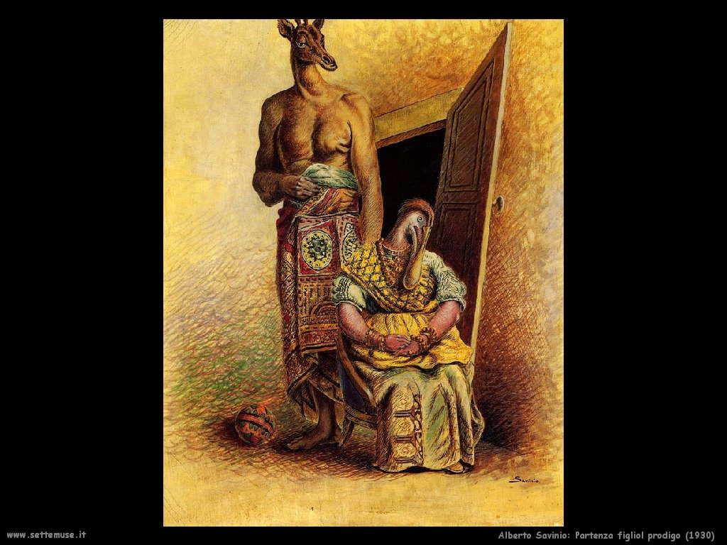 alberto savinio Partenza del figliol prodigo (1930)