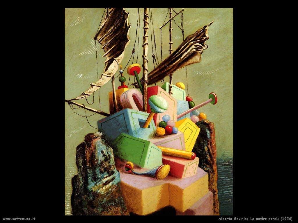 La nave perduta (1926)