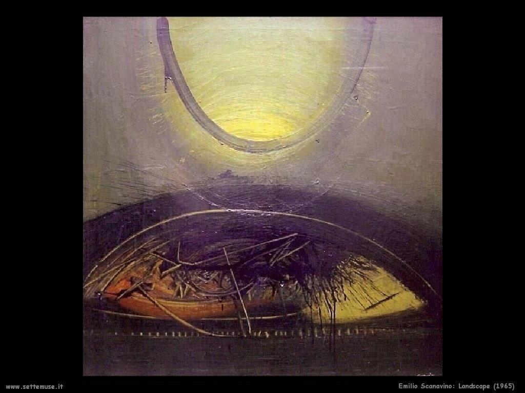 Emilio Scanavino Landscape (1965)