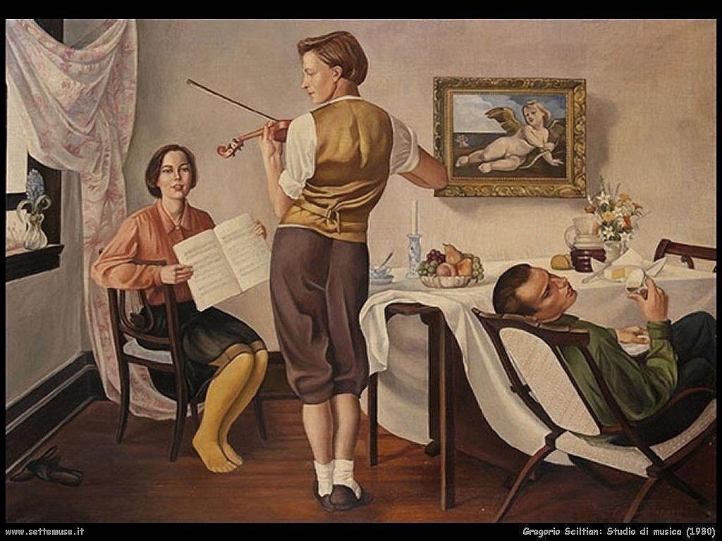 Gregorio Sciltian Studio di musica (1930)