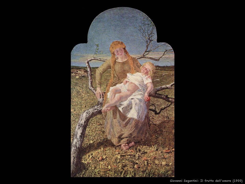 giovanni segantini Frutto dell'amore (1900)