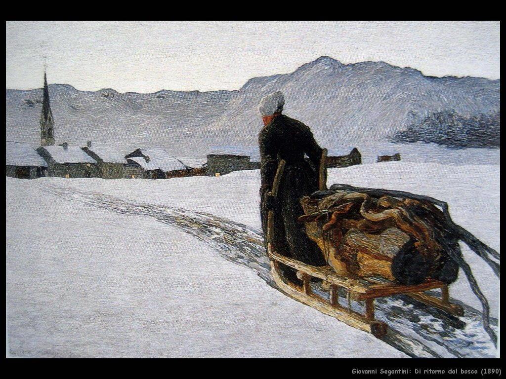giovanni segantini Ritorno dal bosco (1890)