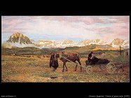 giovanni segantini Ritorno al paese natio (1895)