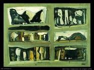Mario Sironi Composizione a sei scomparti (1952)