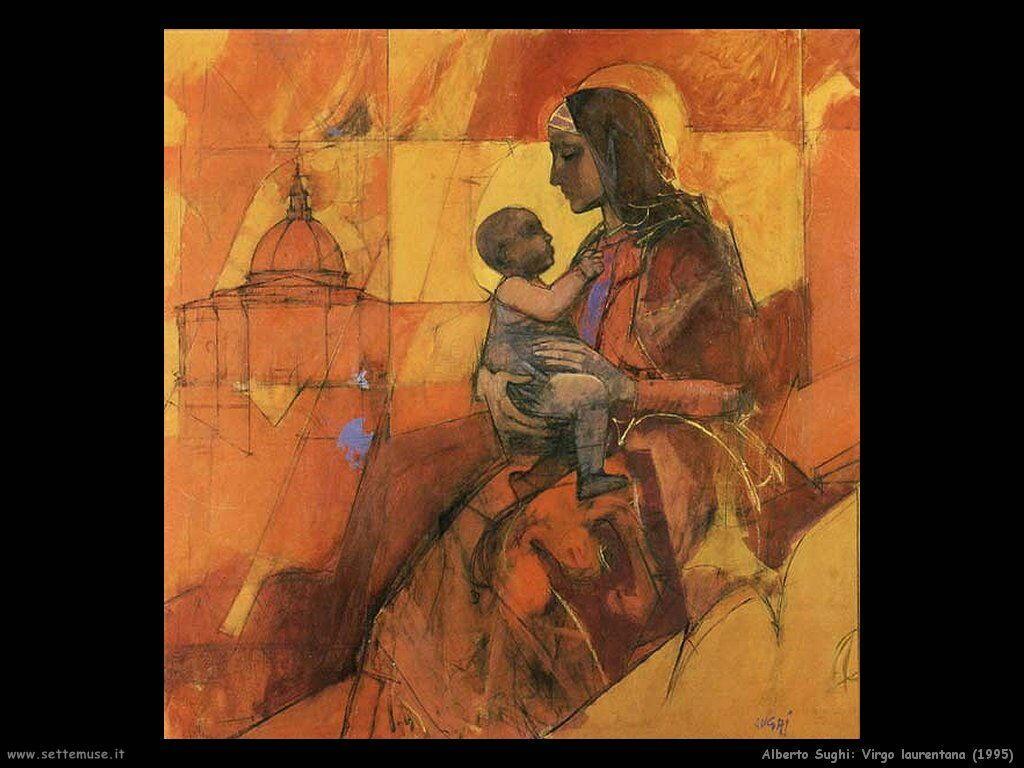 alberto sughi Virgo laurentana (1995)