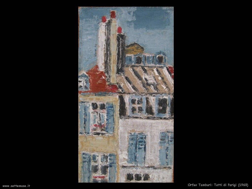 Orfeo Tamburi Tetti di Parigi (1968)