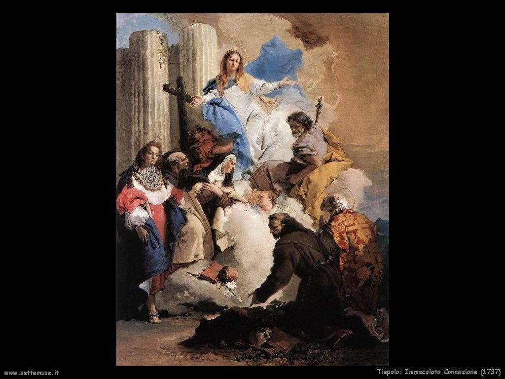 Giambattista Tiepolo Immacolata concezione (1737)