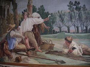 Dipinto di Giandomenico Tiepolo