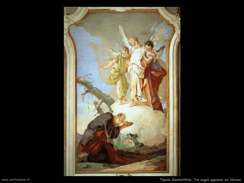 Tre angeli appaiono ad Abramo
