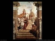 Incontro di Antonio e Cleopatra