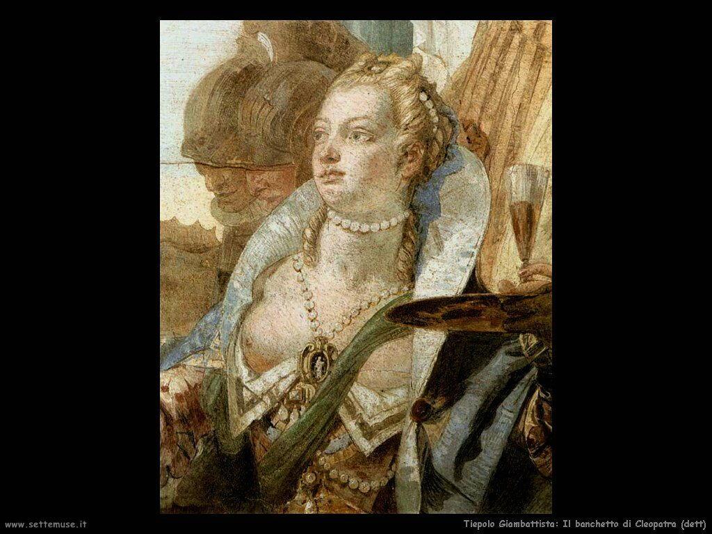 Il banchetto di Cleopatra (dett)