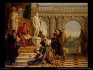 Mecenate presenta le arti ad Augusto