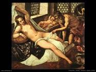 Tintoretto - Venere,Vulcano e Marte