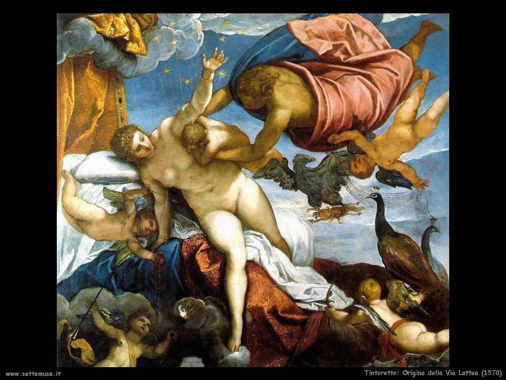 Tintoretto Origine della Via Lattea (1570)