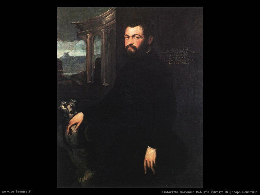 Ritratto di Jacopo Sansovino