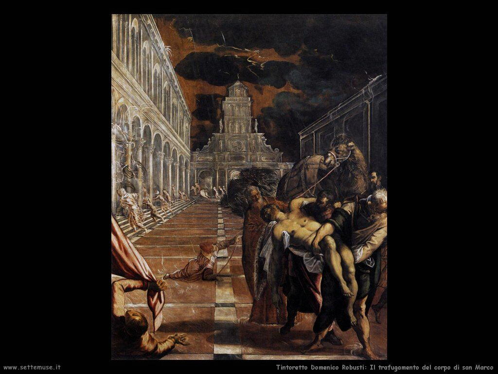 Trafugamento del corpo di san Marco