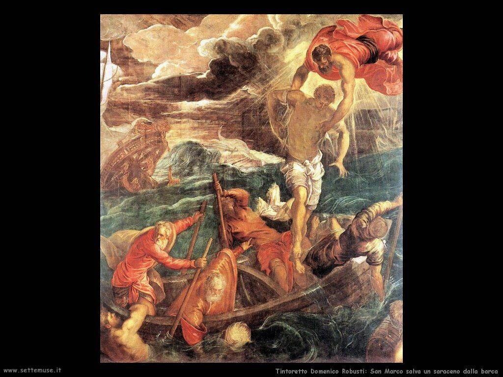 San Marco salva un saraceno dalla barca