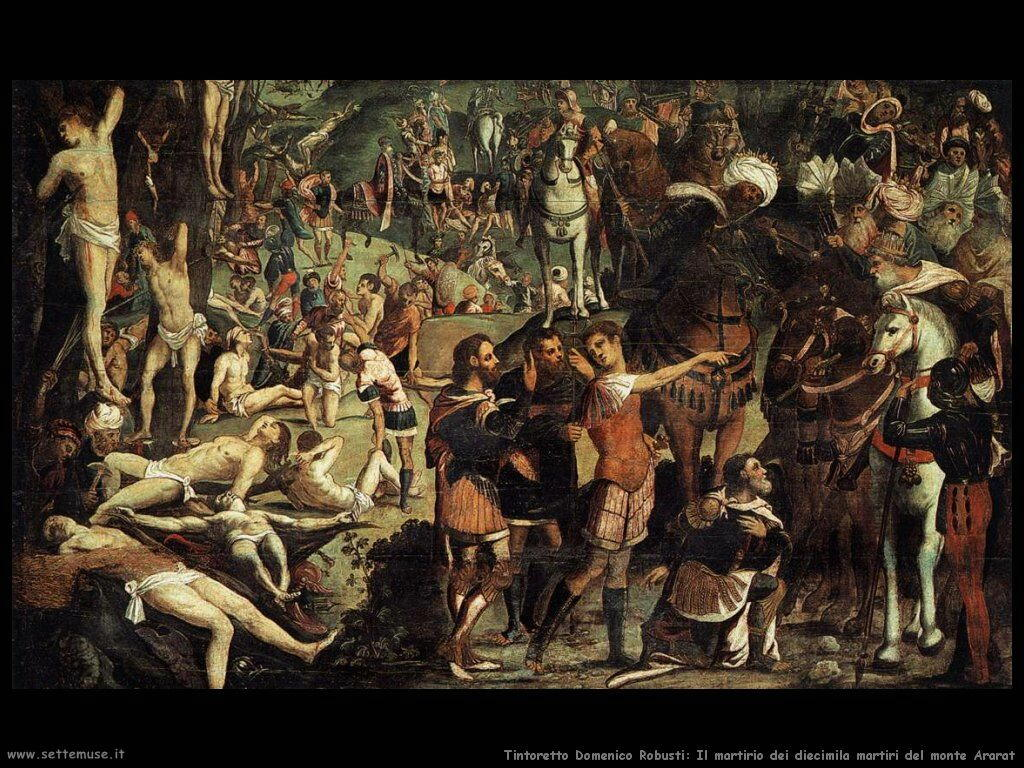 Il martirio dei diecimila (frammento)