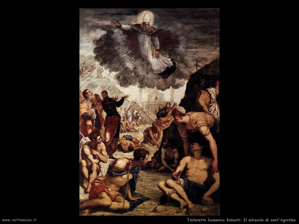 Il miracolo di sant'Agostino