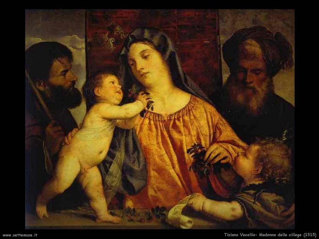Madonna delle ciliege (1515)