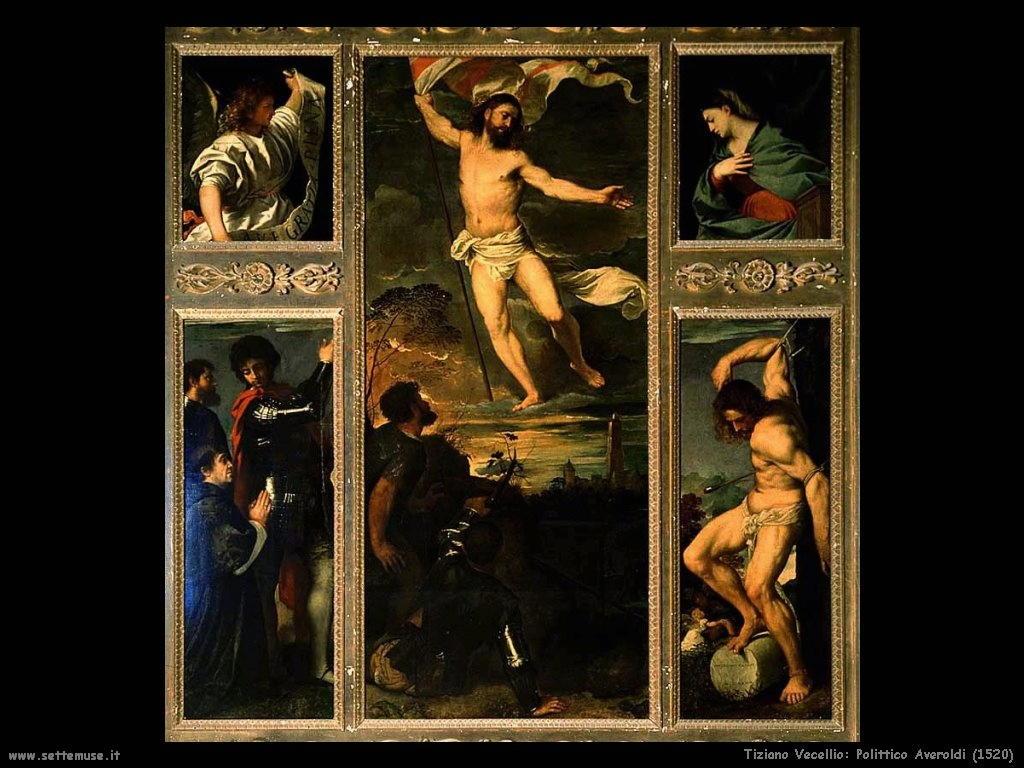 Tiziano Vecellio Polittico Averoldi (1520)