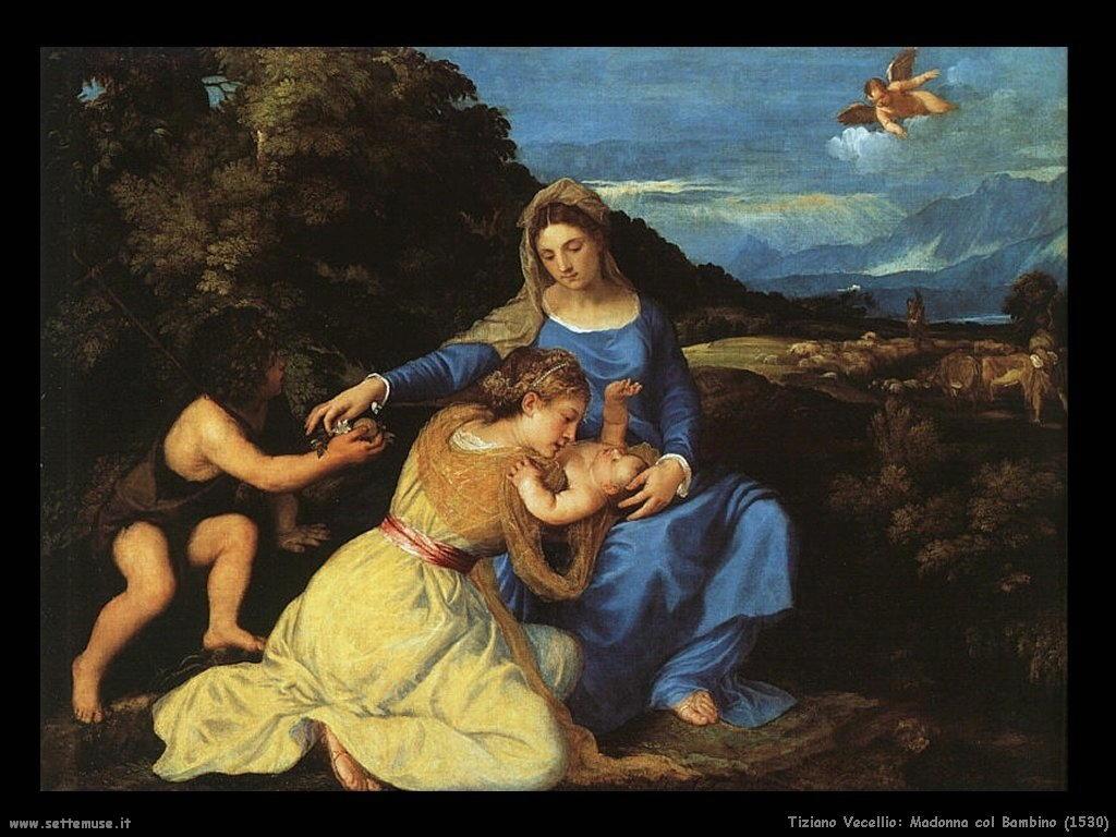 Madonna col bambino (1530)