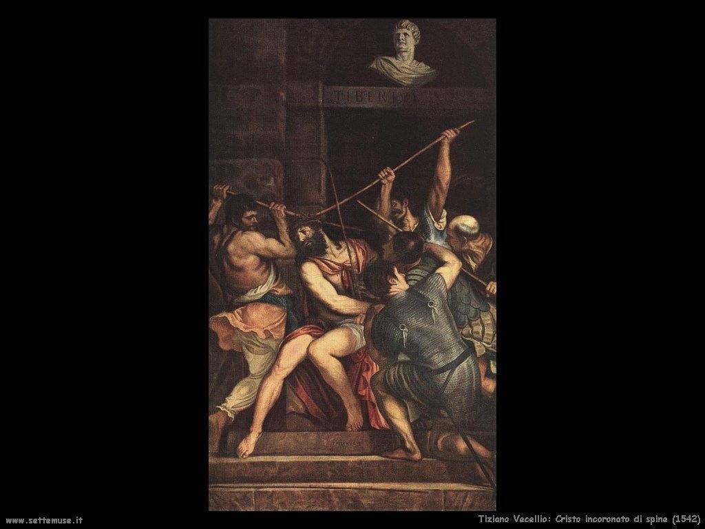 Cristo incoronato di spine (1542)