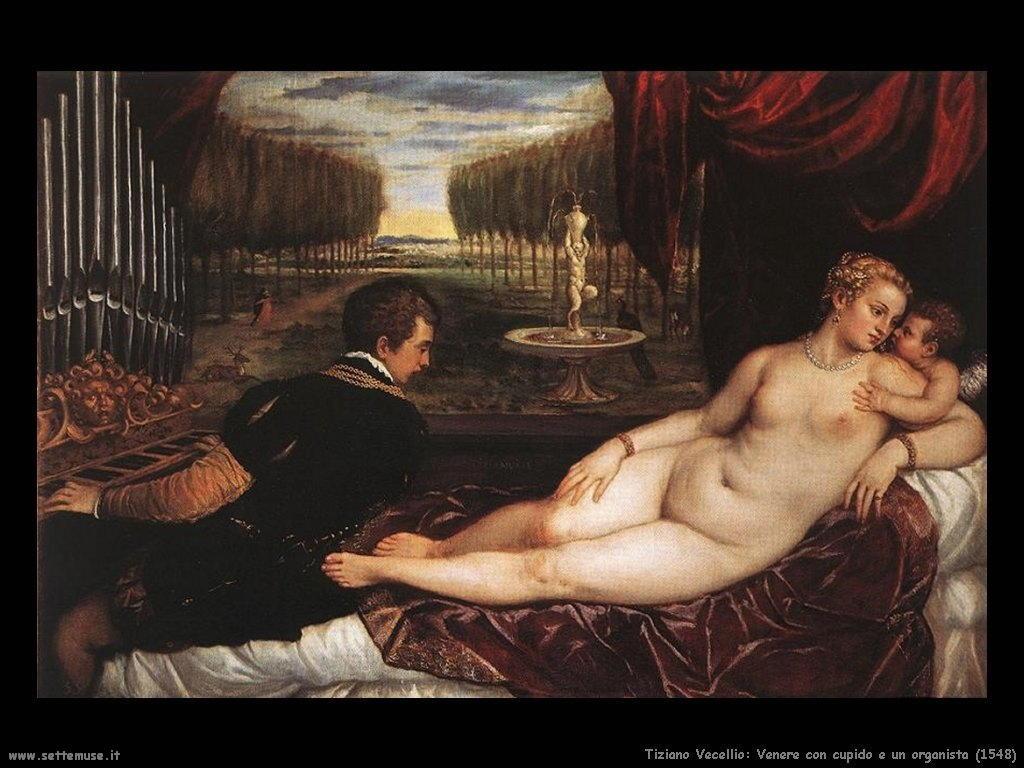 Venere Cupido e l'organista (1548)