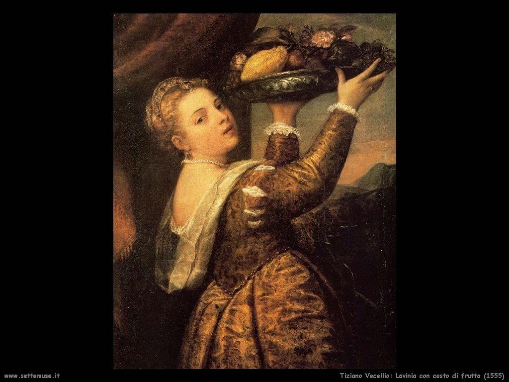Lavinia con cesto di frutta (1555)