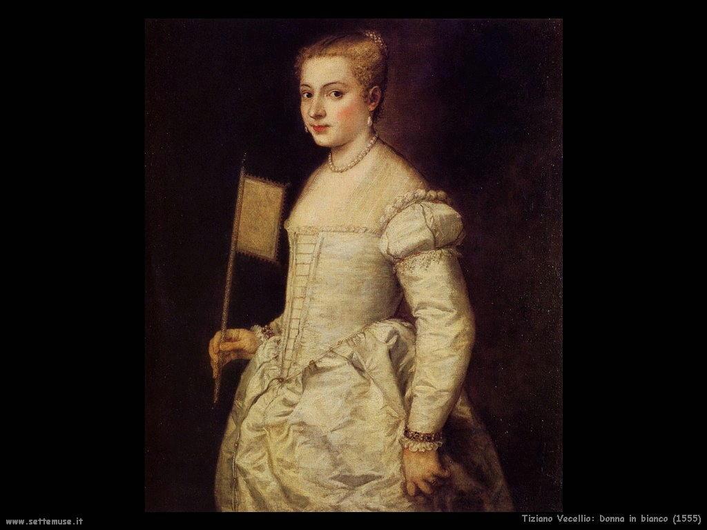 Donna in bianco (1555)