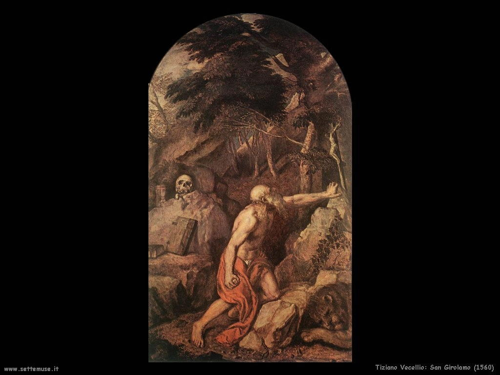 1560 tiziano_vecellio san_gerolamo