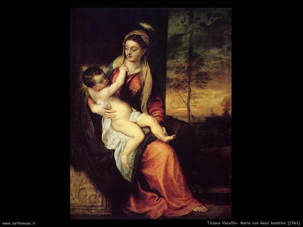 Maria con Gesù bambino (1561)