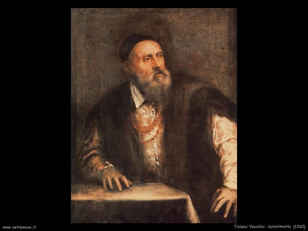 Tiziano Vecellio Autoritratto (1562)