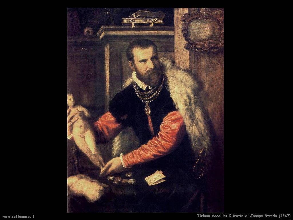 Tiziano Vecellio Ritratto di Jacopo Strada (1567)