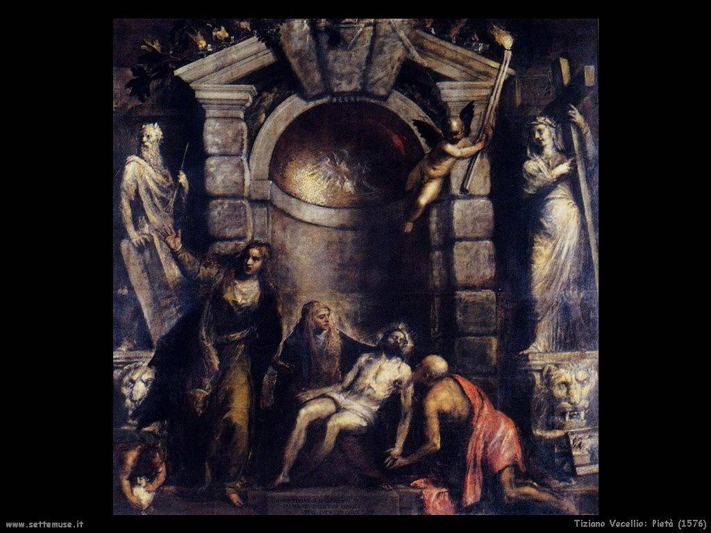 tiziano vecellio Pietà (1576)