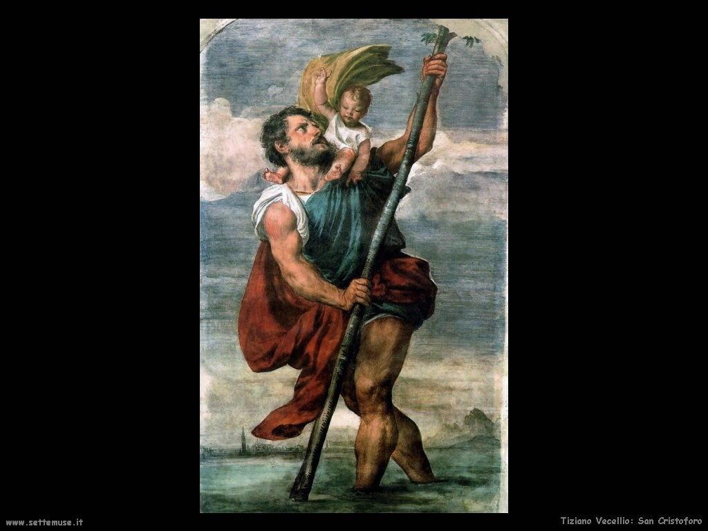 Tiziano Vecellio San Cristoforo