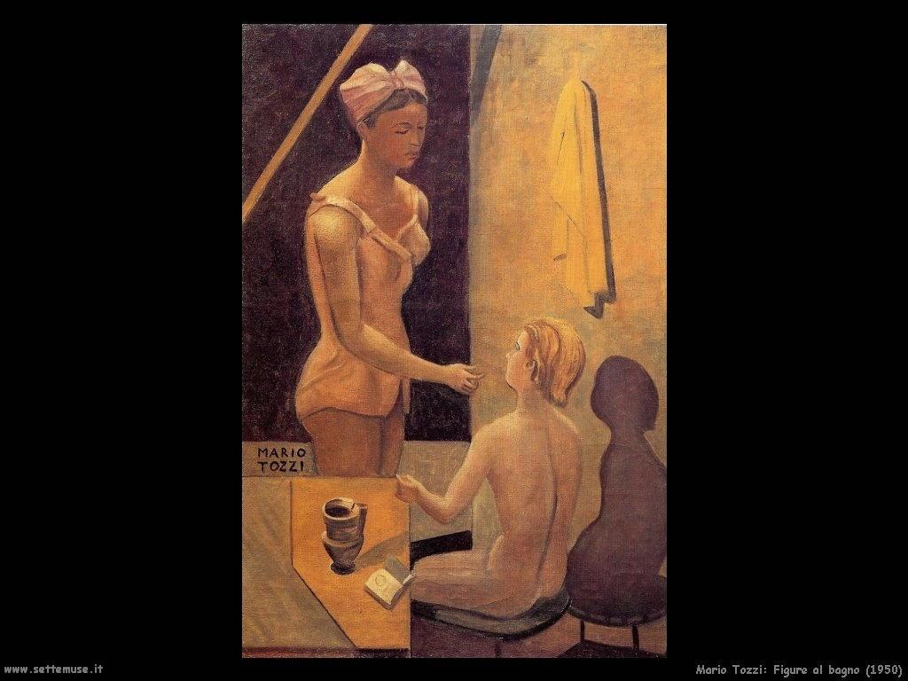 Mario Tozzi Figure al bagno (1950)